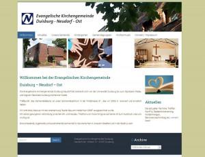 Kirchengemeinde Neudorf | Webdesign