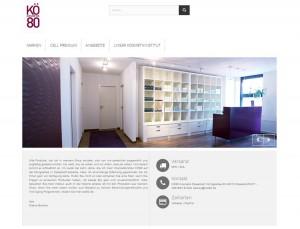 KÖ80 Kosmetik | Onlineshop | Webdesign