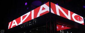 Vapiano Opening Parties | LED Projektionen